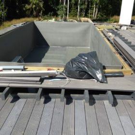 Terassin uusiminen uima-altaan runko SPB Group Helsinki Oy
