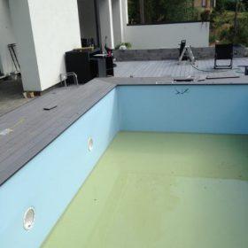 Terassin uusiminen uima-altaan asentaminen SPB Group Helsinki Oy