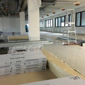 Loft-tilan remonttia SPB Group Helsinki Oy