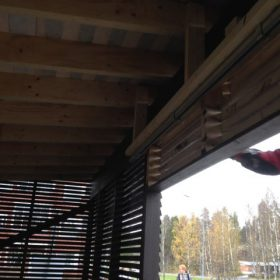 Piharakennus seinän viimeistely SPB Group Helsinki Oy