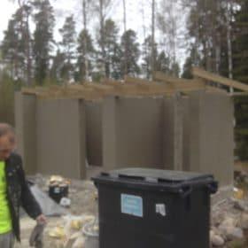 Piharakennus betonivalu tehty SPB Group Helsinki Oy