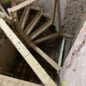 betonivaletut portaat ennen valua SPB Group Helsinki Oy