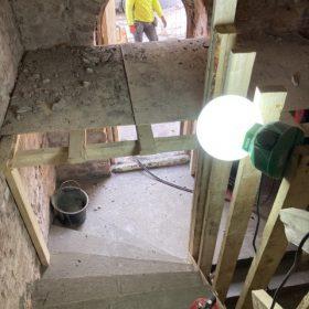 kierreportaat betonista muottien poistoa SPB Group Helsinki Oy