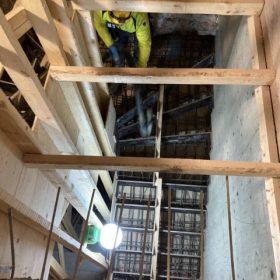 portaiden betonivalun valmistelua SPB Group Helsinki Oy