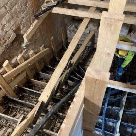 portaiden betonivalun valmistelu SPB Group Helsinki Oy
