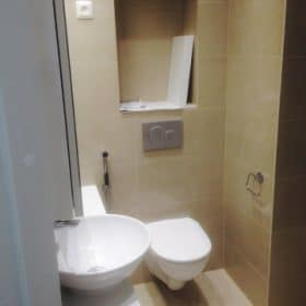 Kylpyhuoneremontti WC valmistumassa SPB Group Helsinki Oy